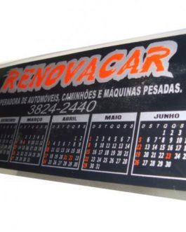 Calendário em PVC – 419