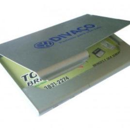 Porta Cartão em Alumínio