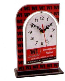 Relógio de Mesa Giratório