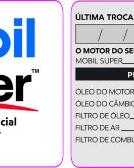 Etiqueta Troca de óleo – 740